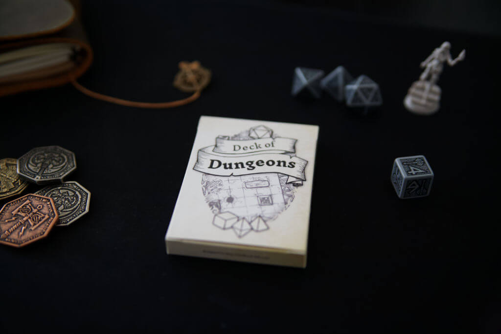 deck of dungeons verpackung photo